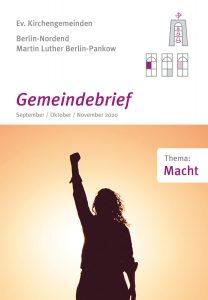 Gemeindebrief Martin-Luther / Nordend September bis November 2020
